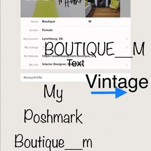 Check Out My New Boutique High End Vintage